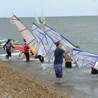 "Saturdays are now ""Learn to Windsurf Again"" Days!"