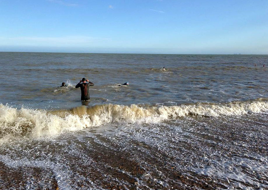 Sea Swimming Hythe Kent, Open water Swimming