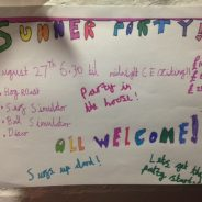 summer party 2016 – aug 27th