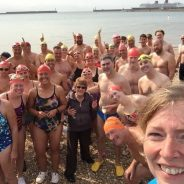 Dover Channel Training Swimming Group joins Hythe & Saltwood Sailing Club