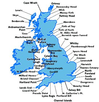 Shipping Forecast Map Weather Central Instructions Shipping Forecast Map